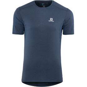 Salomon M's Trail Runner SS Tee dress blue